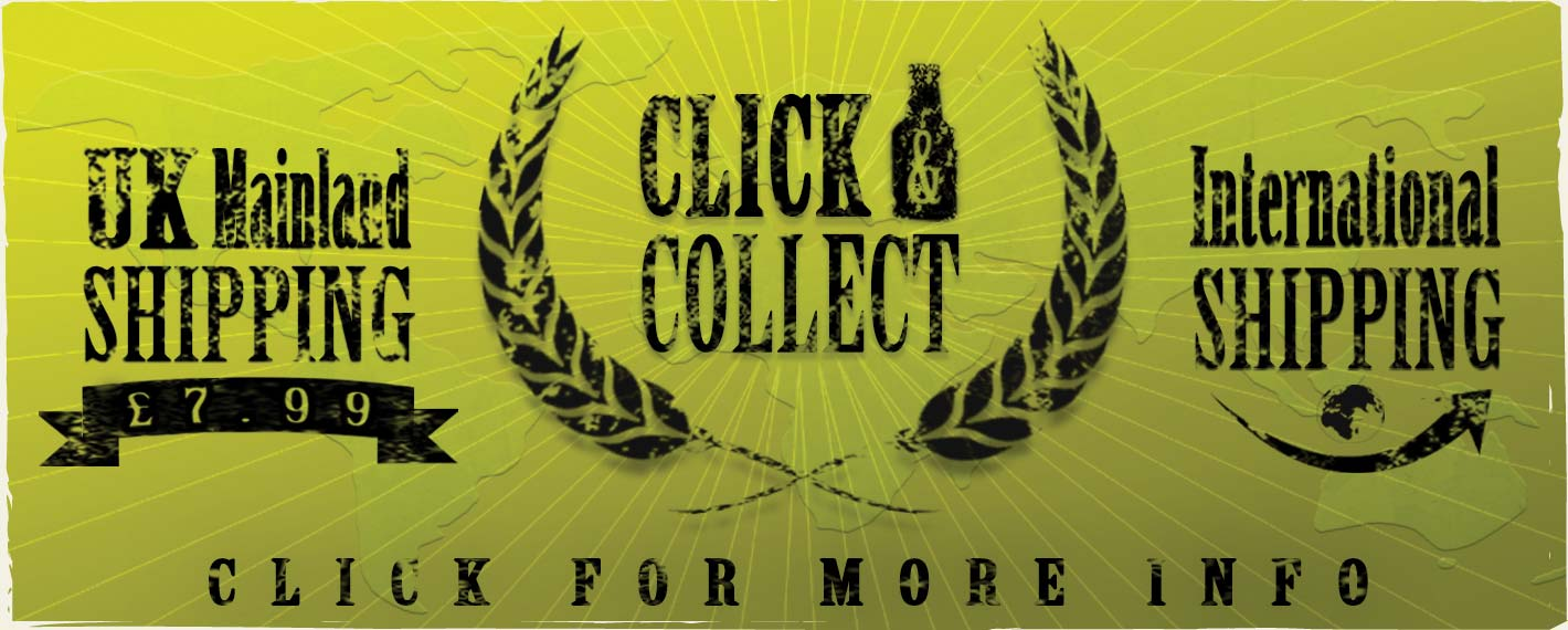 Click & Collect or Worldwide Shipping