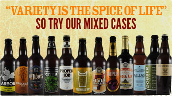 Variety is the spice of life, so try our mixed cases