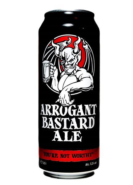 Buy Arrogant Bastard Ale Can Online Stone Brewing