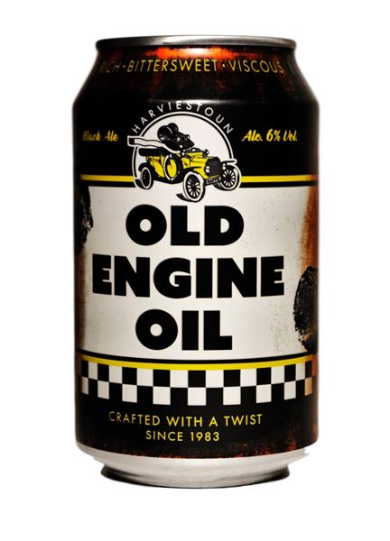 Buy old engine oil can online harviestoun brewery for Buy motor oil online