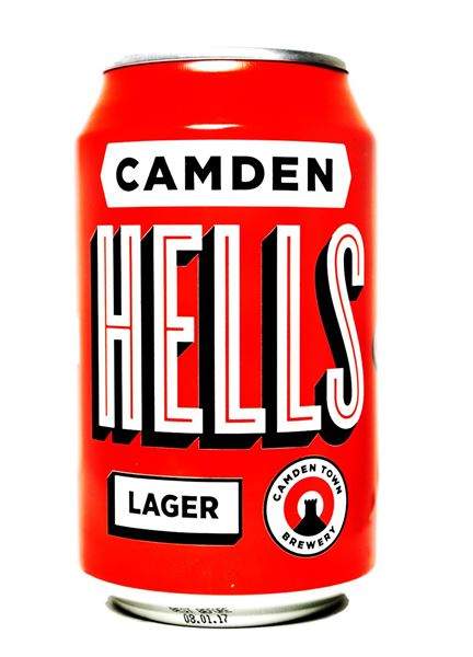 Buy Camden Hells Lager Can Online Camden Town Brewery